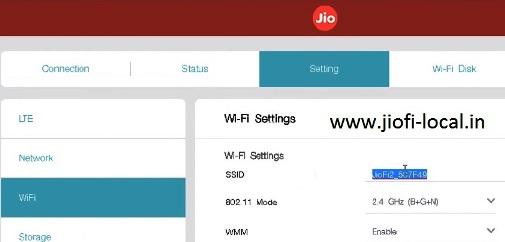 Jiofi.Local.Html Admin Login for Mifi Router Settings 192.168.1.1 for Change Password