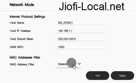 stop JioFi Internet