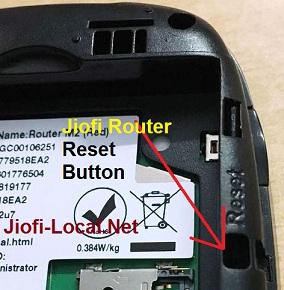 jiofi router reset